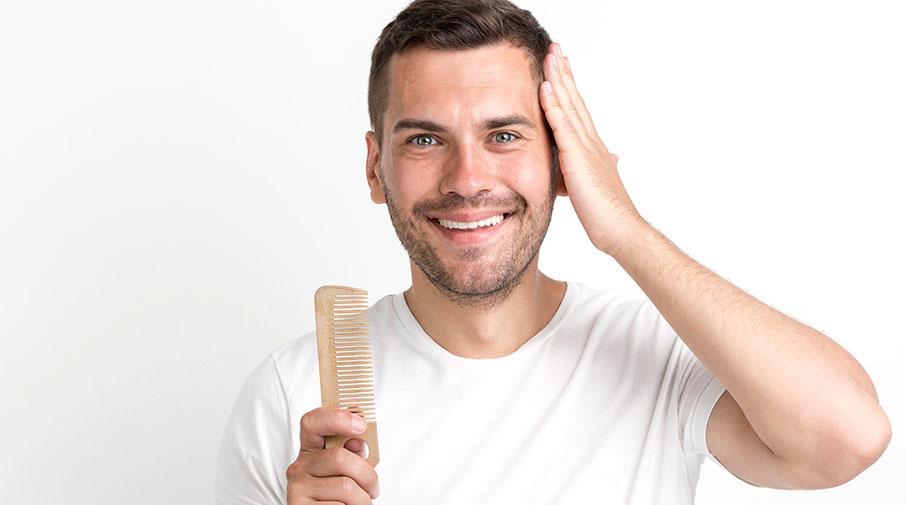 Genomföra en hårtransplantation